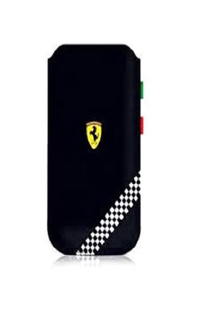 Ferrari Ferrari universal Leather Pouch FEFOSLLB-Black