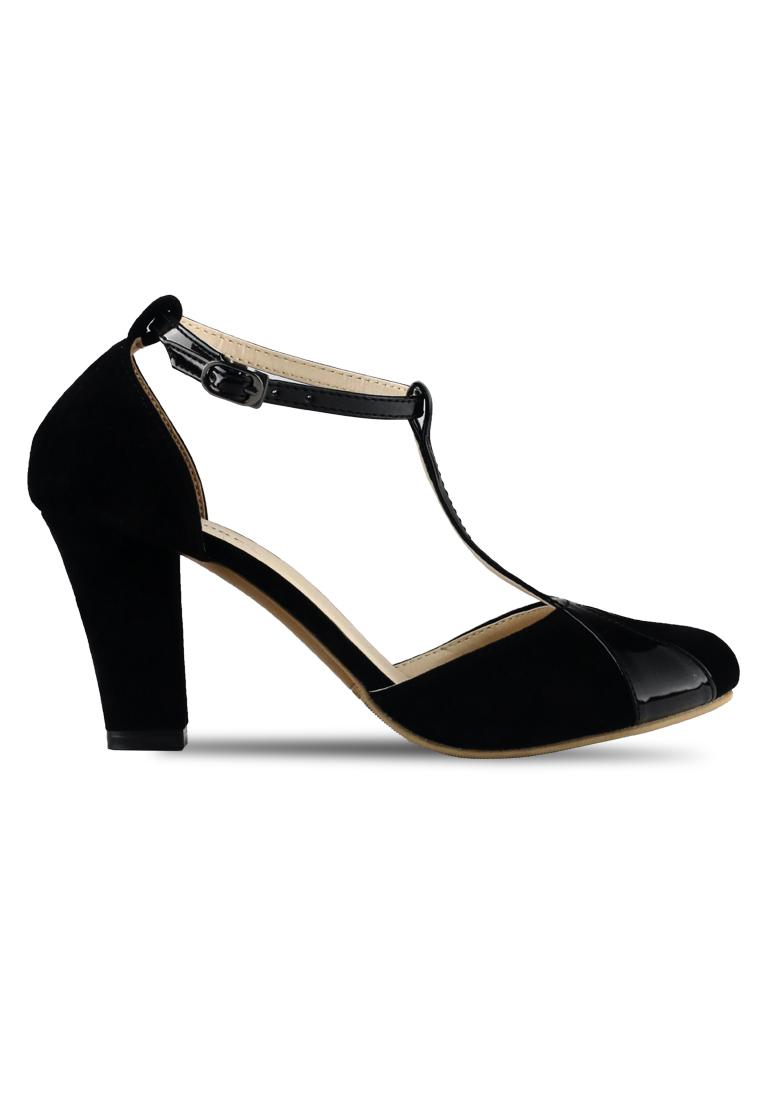 CLAYMORE Claymore sepatu high heels B 711B - Black
