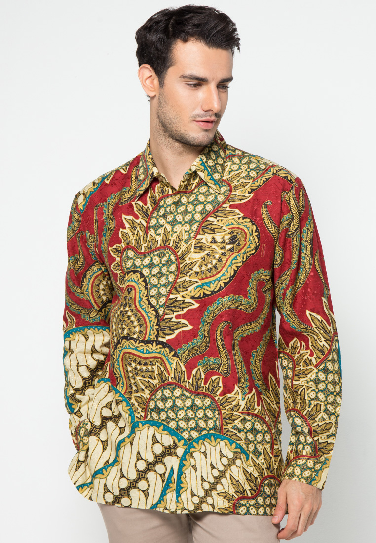 Kemeja Batik Motif Parang Campur by Danar Hadi ME1853 | Klikplaza ...
