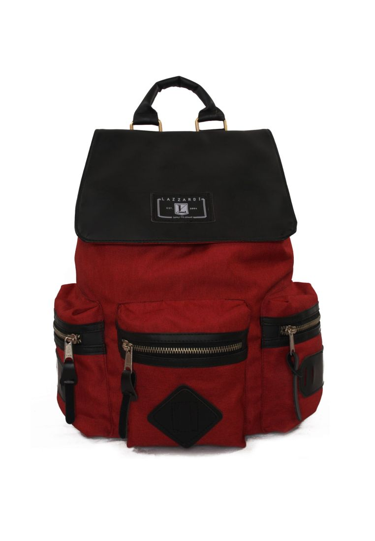 Lazzardi Lazzardi Backpack Audrey - Maroon