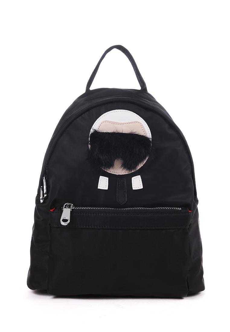 London Berry by HUER Karlito Medium Nylon Backpack