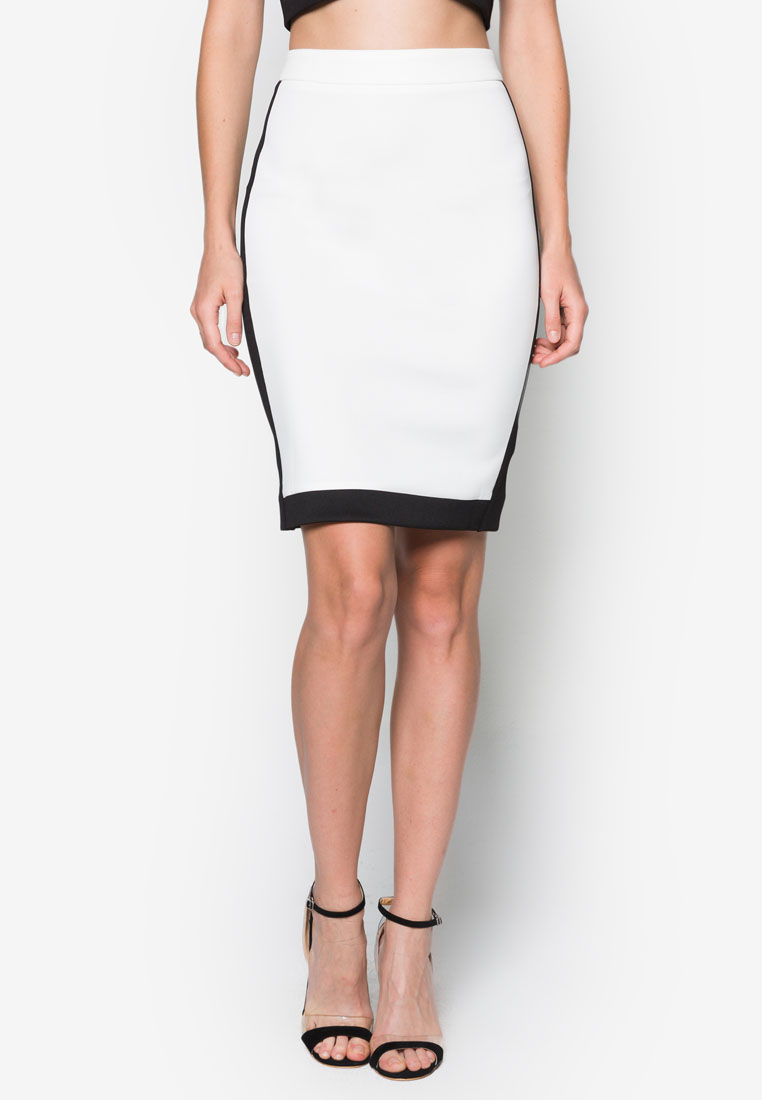 Collection Colourblock Pencil Skirt